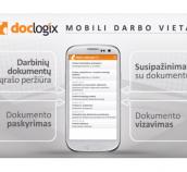 """Pristatome """"DocLogix"""" mobiliąją programėlę įrenginiams su """"Android"""""""