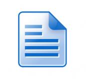 """Automatinis elektroninio dokumento registravimas """"DocLogix"""" sistemoje"""