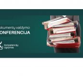 DocLogix rekomenduoja: Dokumentų valdymo konferencija